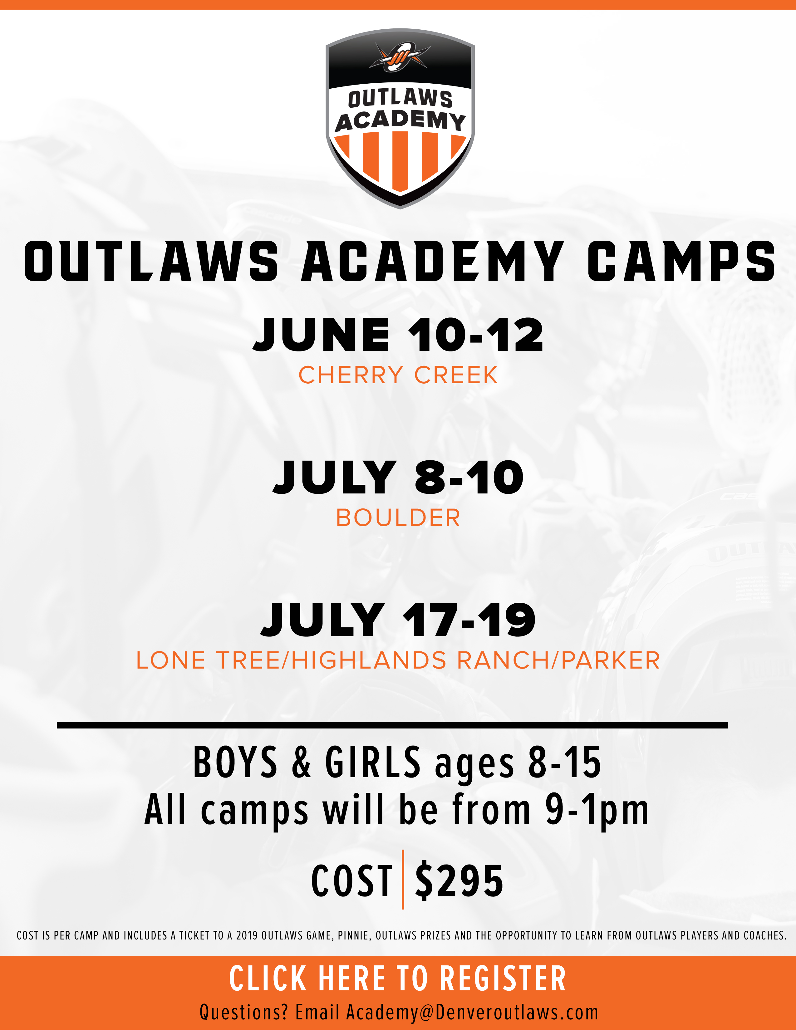 Outlaws Academy Camps